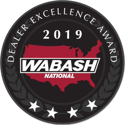 Wabash National Dealer Excellence Award 2019