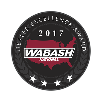 Wabash National Dealer Excellence Award 2016