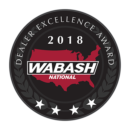 Wabash National Dealer Excellence Award 2018