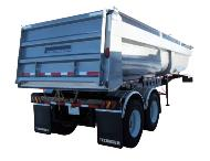 Tandem End Dump Trailers in Canada